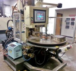 Autojector Vertical Rotary Table HRC-90 Injection Molding Machine Front