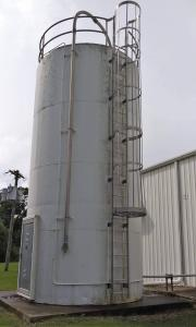 Imperial Industries 12 Ft. Diameter, 24 Ft. Tall Resin Silo