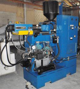 Improved Impco B13-R25 Blow Molding Machine hopper