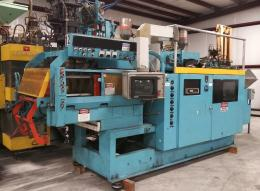 Uniloy 250R1, 2 head Blow Molder