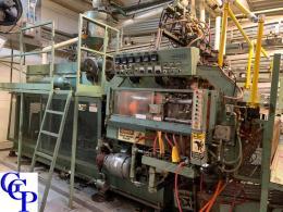 Uniloy 350R2, 6 Head EBM Machine