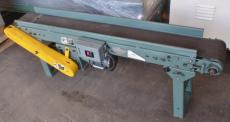 Hytrol 9 in. wide 70 in. long flat belt conveyor
