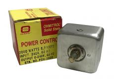 Ohmitrol Solid State Power Control PCA-1020