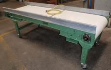 Roach 27 in. Wide 8 ft. long flat belt conveyor