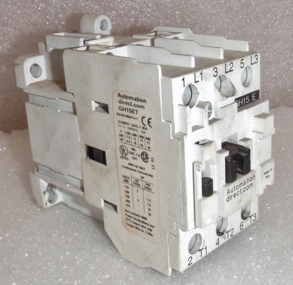 Automation Direct GH15ET Contactor | Garden City Plastics
