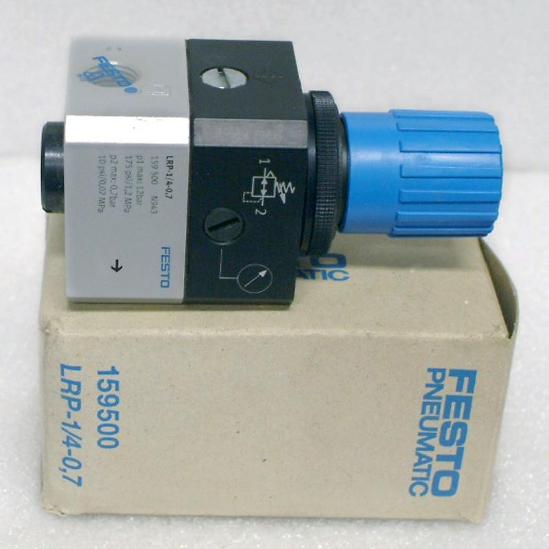 Festo LRP-1/4-0 7 Pneumatic Valve   Garden City Plastics