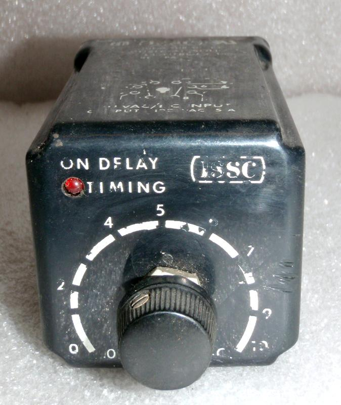 Industrial Solid State Controls Time Delay Relay