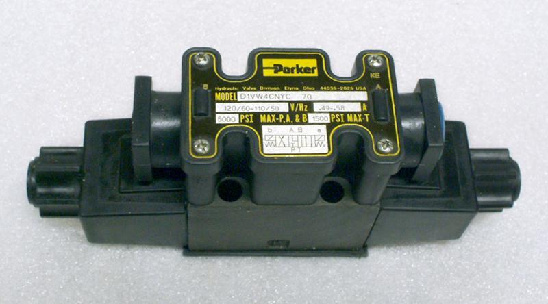 Parker d1vw4cnyc 70 hydraulic valve garden city plastics for Parker hydraulic motor distributors