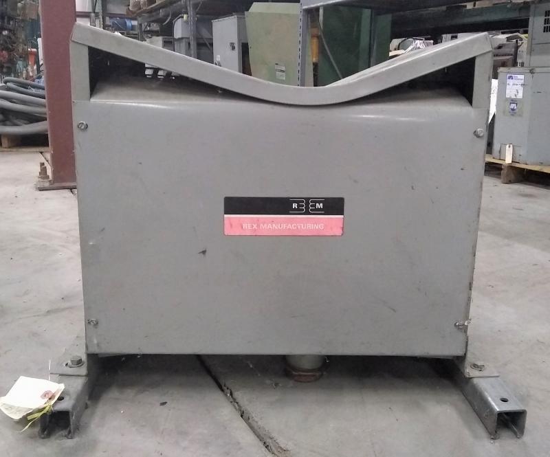 Rex Manufacturing 75 KVA Transformer