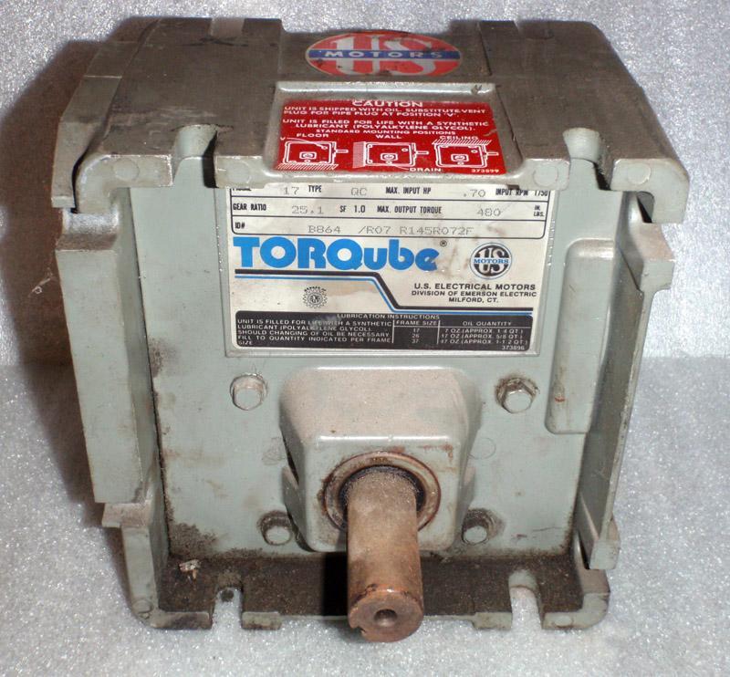 U.S. Electrical Motors/Torqube B864 Speed Reducer | Garden City Plastics