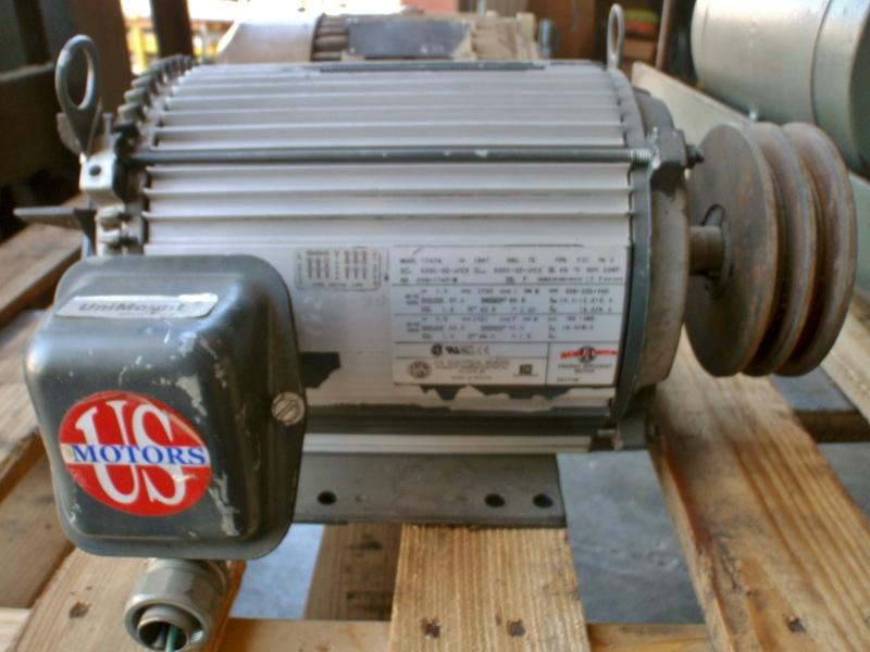 US Electrical T747A 5 HP Motor | Garden City Plastics