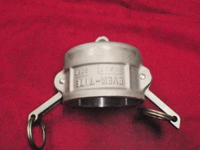 2.5 inch Camlock DC Dust Cap