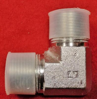 """90 Degree 1"""" Pipe Fitting Male Input and Output"""