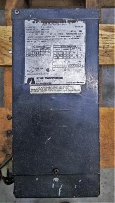 Acme Electric Corporation 2.0 KVA Transformer