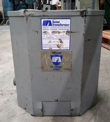 Acme Electric Corporation 25 KVA Transformer