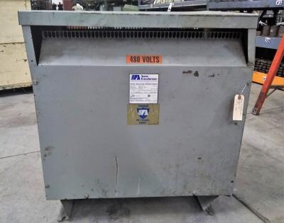 Acme Electric Corporation 75 KVA Transformer