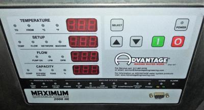 Advantage Maximum 2000 HE 7.5 Ton portable water chiller