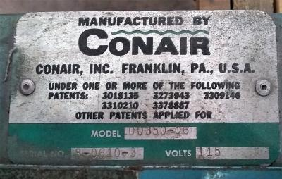 Conair Selectronic 2 Single Tube Loader Control