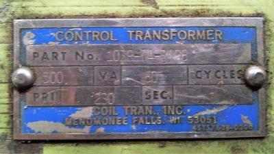 Control Transformer 500VA