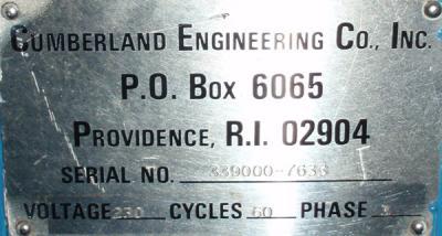 Cumberland Cumberland 184 GRAN 2KN 1976 data