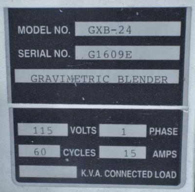 Foremost GXB-24 Gravimetric Blender