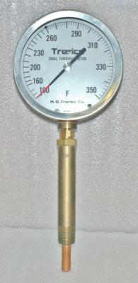 H.O. Trerice Co 52-2465 Dial Thermometer