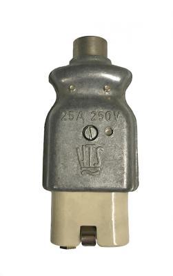 HTS 25A 250V European High Temp Heater Plug