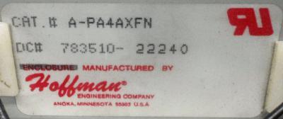 Hoffman Fan A-PA4AXFN