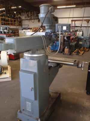 Lagun FT.1 9 in. X 42 in. vertical milling machine back