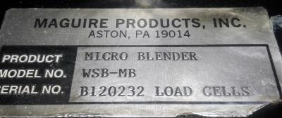 Maguire Products Inc. WSB-MB Micro Weigh Scale Blender