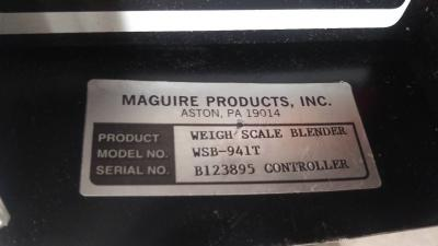 Maguire WSB-941T Blender Controller data tag