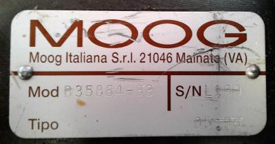 Moog B35864-8B Program Cylinder