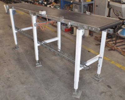 Schunk Fordertechnik SFT/P50 flat belt conveyor