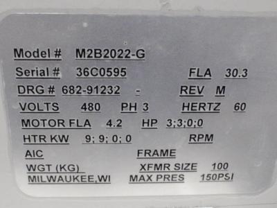 Sterling M2B2022-G, Dual Temperature Control Unit