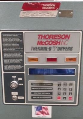 Thoreson McCosh TD-150 Operator interface