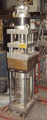 W. Muller S-1160PE Blow Mold Machine Head