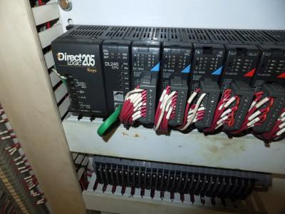 1980 Bekum H-151 PLC controls