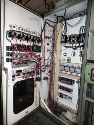 1980 Bekum H-151 Electrical Cabinet