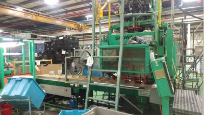 Uniloy 350R2, 3 head part takeaway conveyor