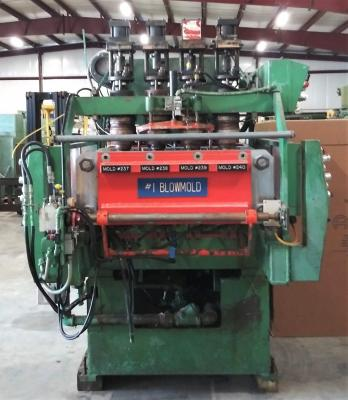 Uniloy 350R2, 4 head Blow Molding Machine