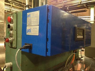 Uniloy 350R2, 6 head, PTI leak tester